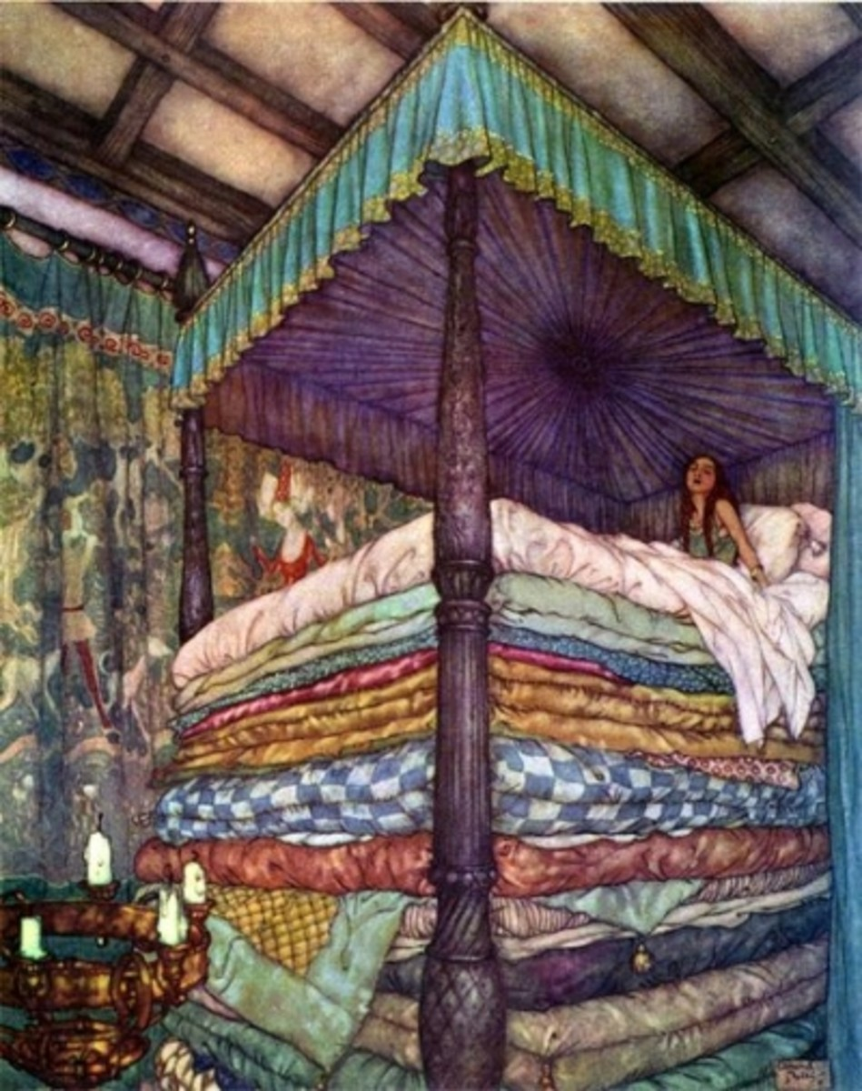 "Dulas, Nielsen's ""The Princess and the Pea"" ~one of my favs!"