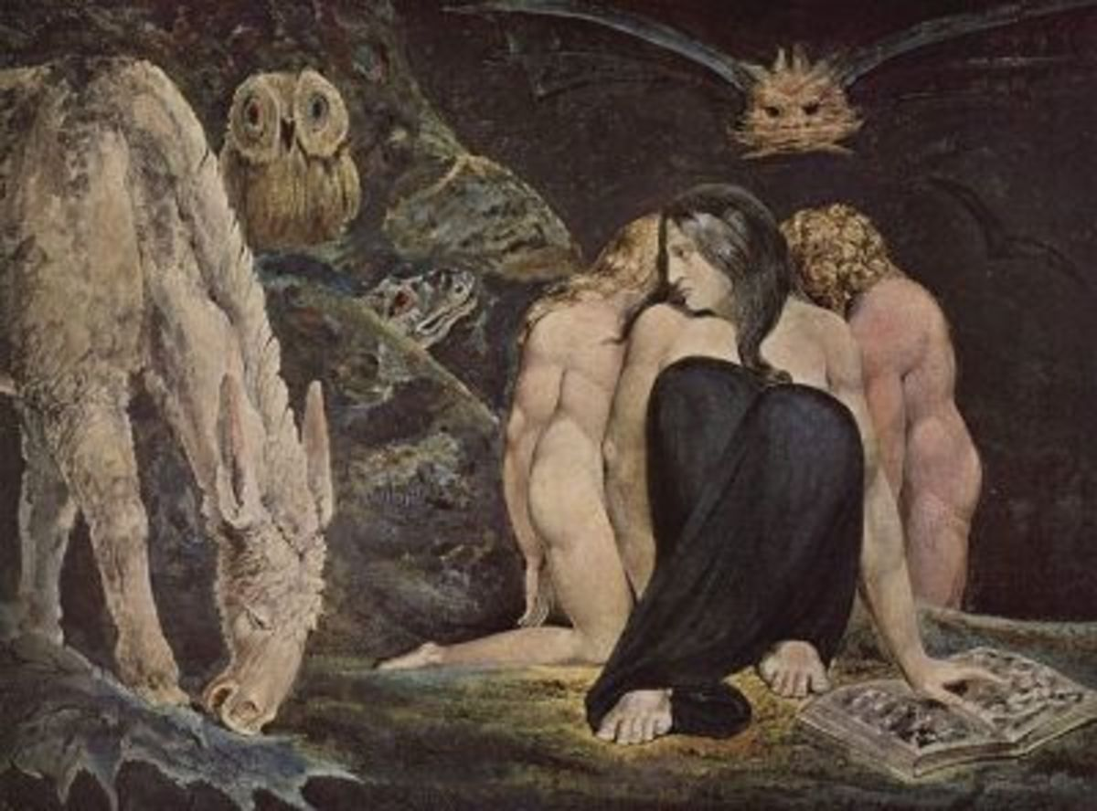 Hecate, by William Blake, 1795