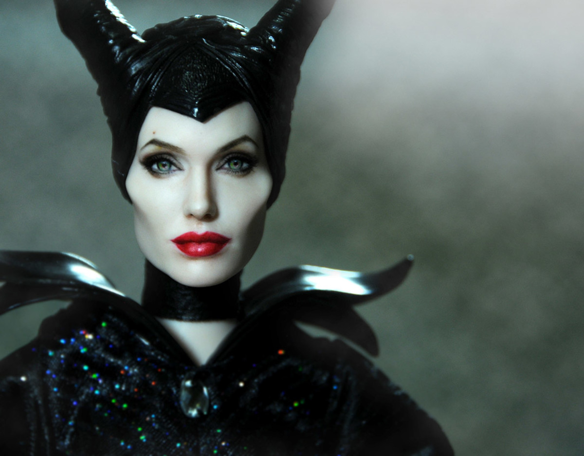 Angelina Jolie as Maleficent by Noel Cruz