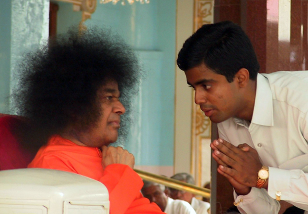 """Swami, do you want me to speak or not?"" His reply from within me today - ""I want You to speak and not your ego. Always remember that."""