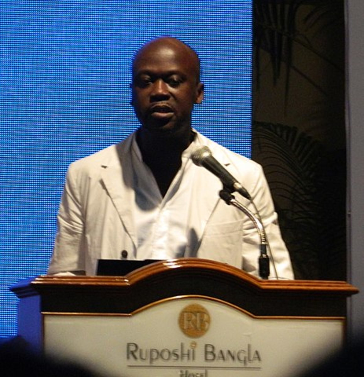 Sir David Adjaye at the Conference of Commonwealth Association of Architects in Dhaka