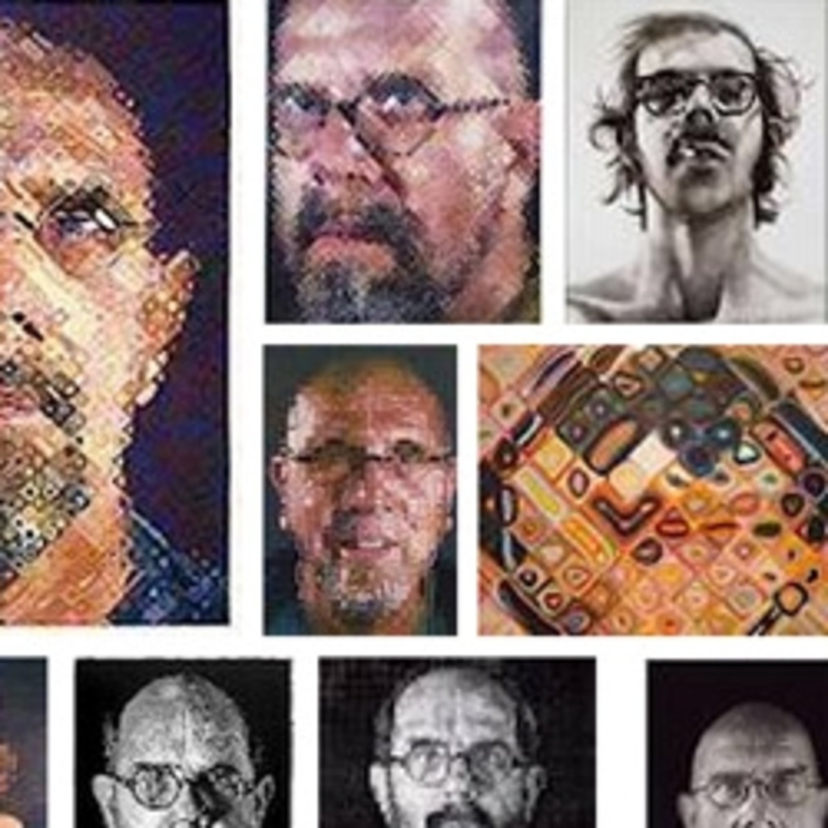 About Chuck Close - American Artist