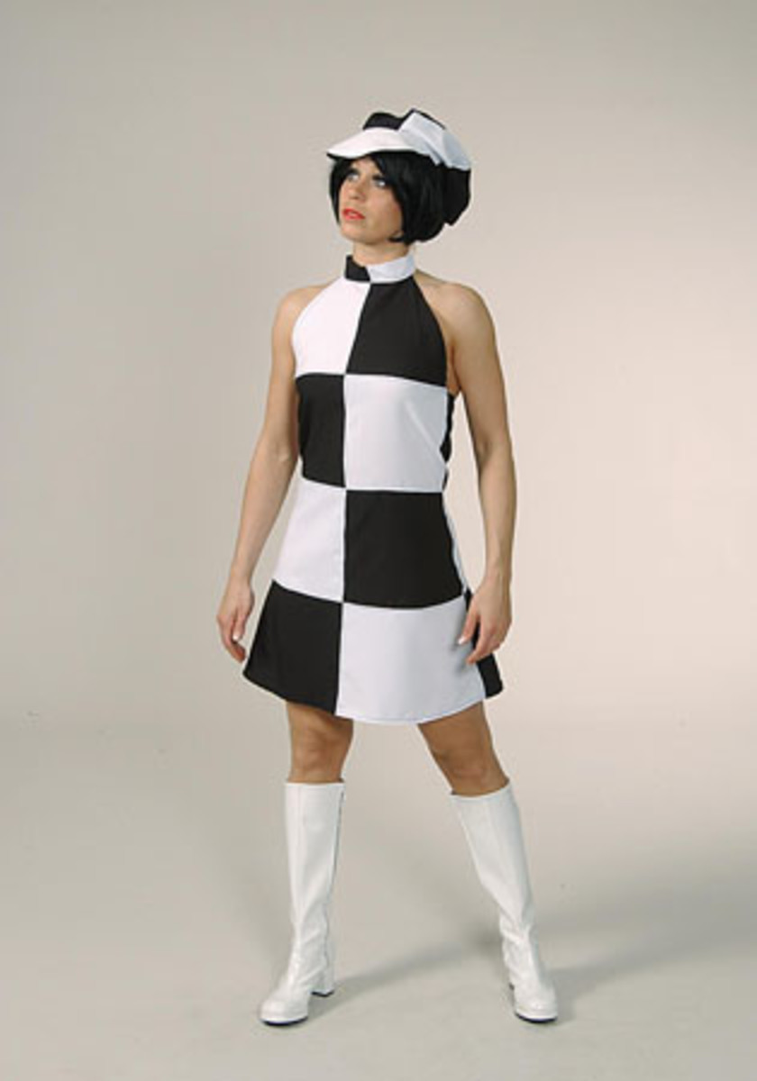 Black & white 60s Dress