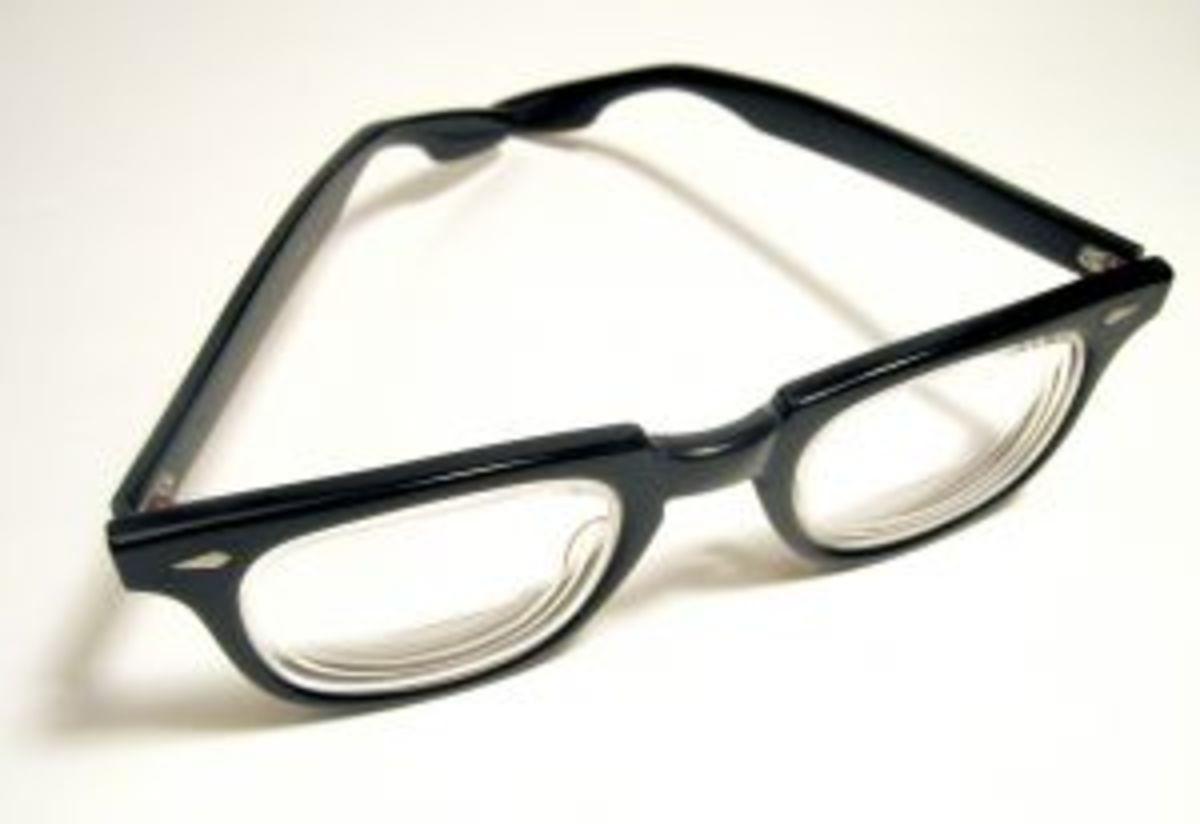 geeks - men seldom make passes at girls who wear glasses.