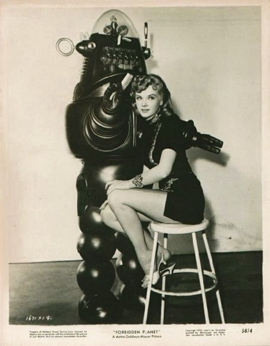 Forbidden Planet, a Beautiful Girl and a Hairdressing Robot