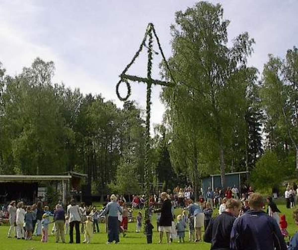 Maypole Clebration-Sweden