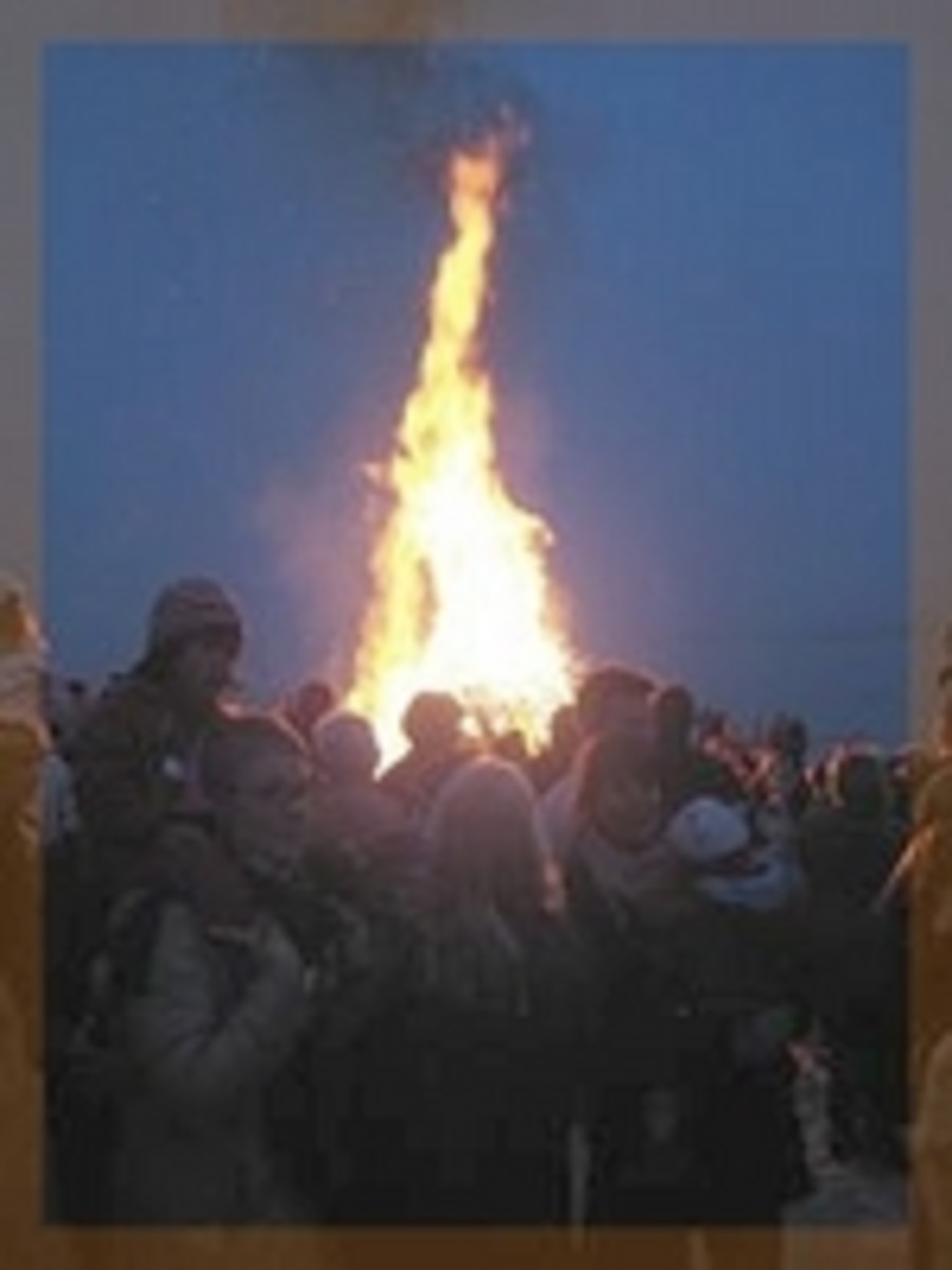 Bonfire Celebration-Sweden