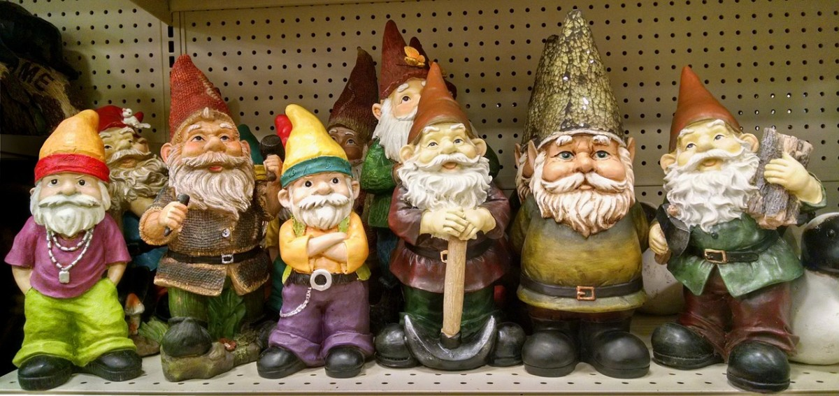 Using  Garden Gnomes for Self-Defense