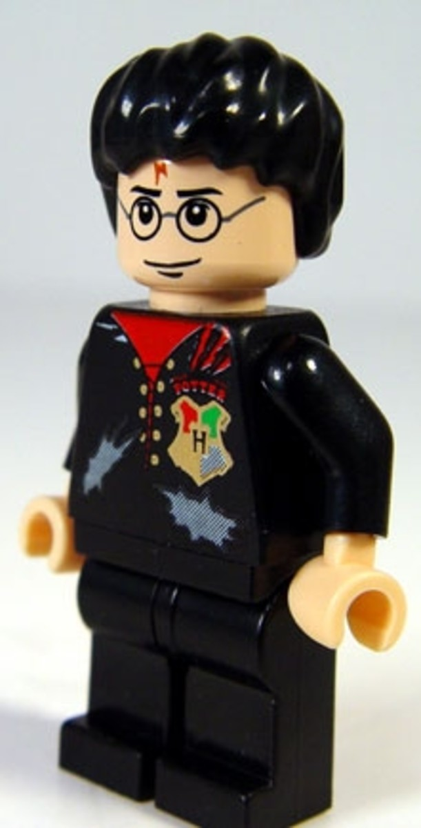 Harry Potter Lego Man