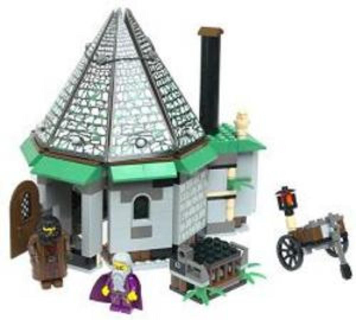 Hagrid's Hut: Lego Set