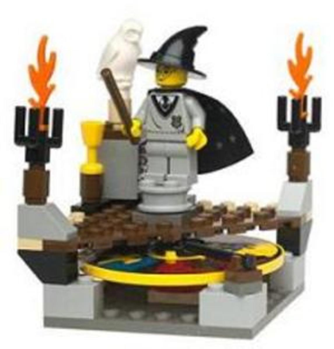The Sorting Hat: Harry Potter Lego Set