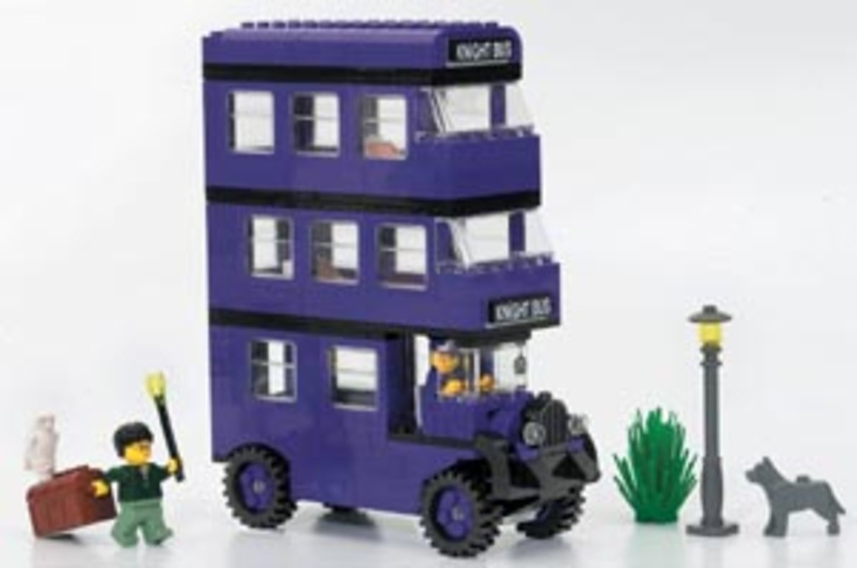 Knight Bus: Harry Potter Lego Set