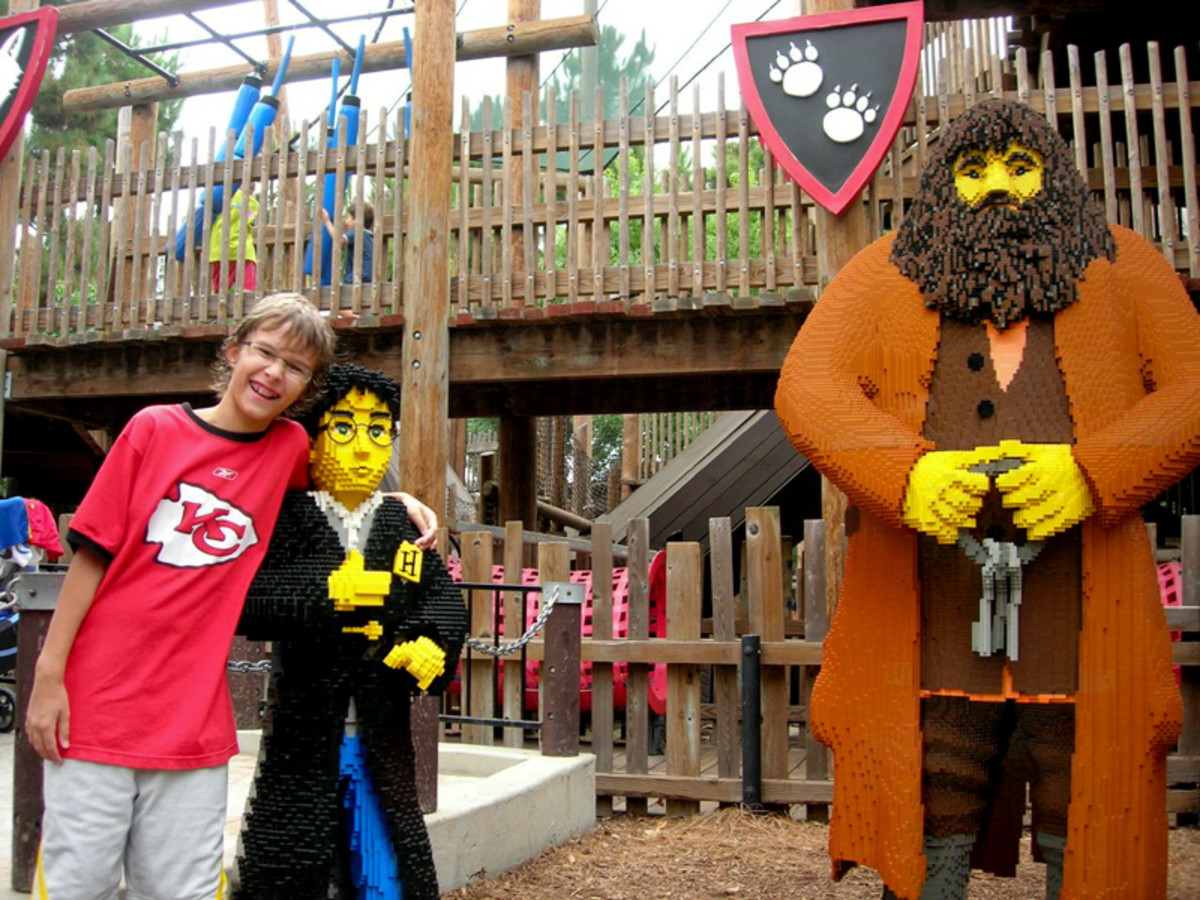 Harry Potter Display at LEGOLAND in California (2008)