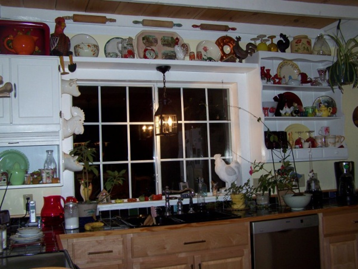 Old Country Life Decorating ~Reuse, Redo Don't Buy New.
