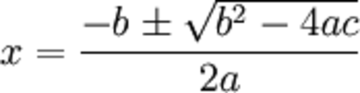 general solution to the quadratic equation