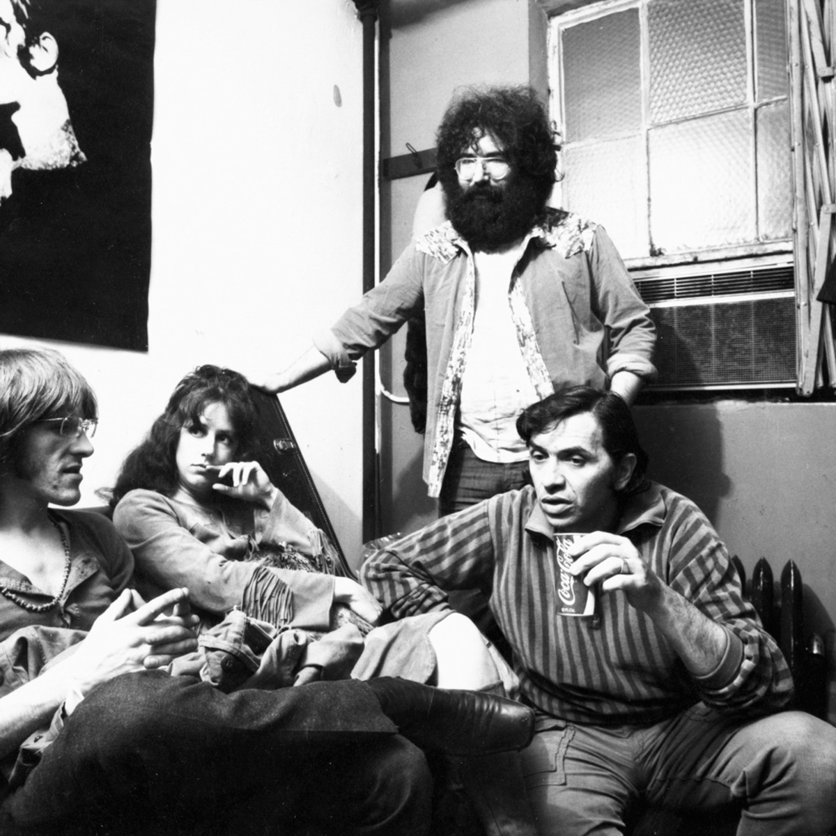 Grace backstage at the Fillmore West