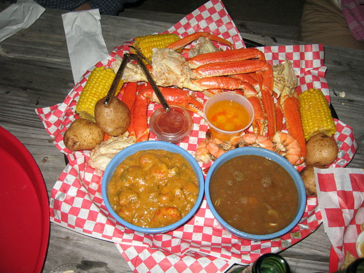 A great Cajun meal.