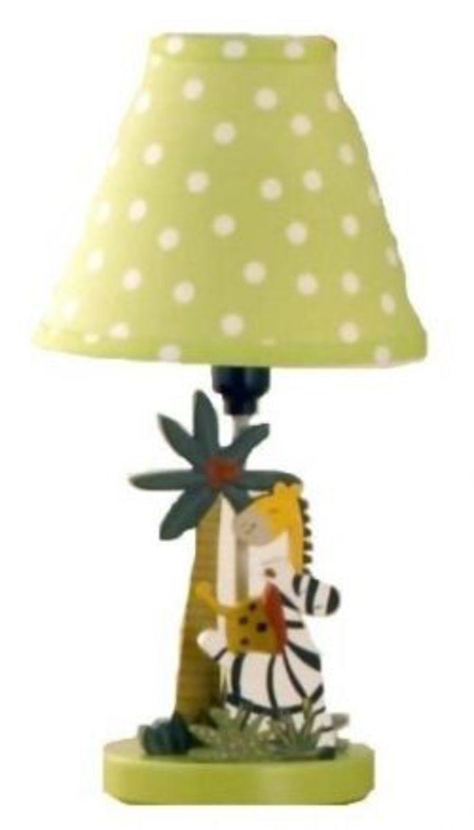Jungle Nursery Lamp