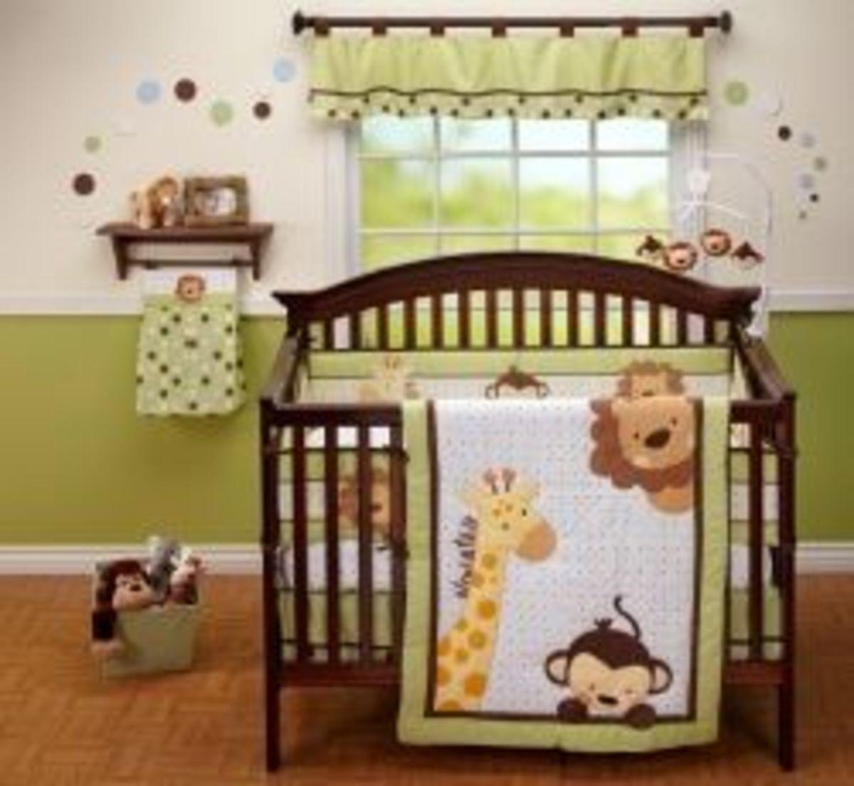 Jungle Baby Bedding Set