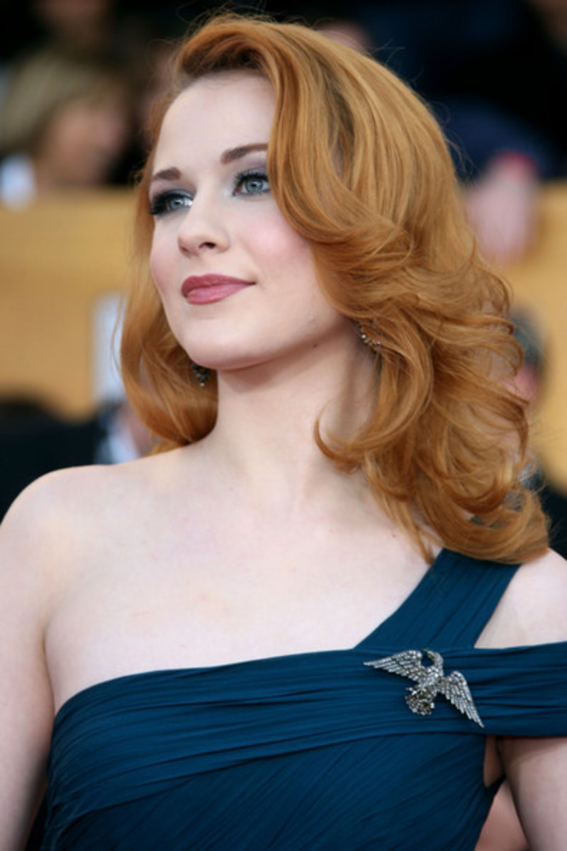 rachel wood curly hairstyles for medium length hair