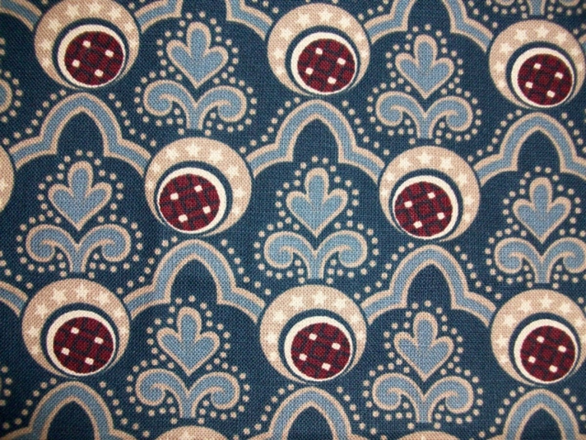 Pretty Fabric for Chair