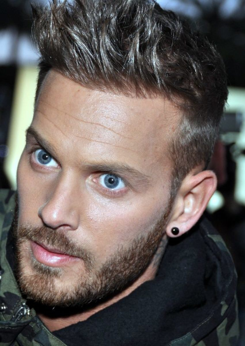 M. Pokora at the NRJ Music Awards 2013