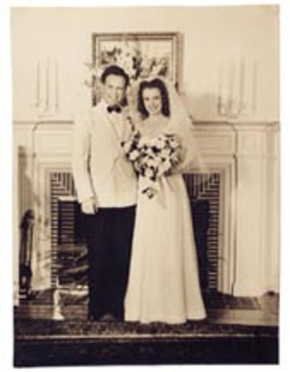 Marilyn's Wedding to Jim Dougherty, 1942
