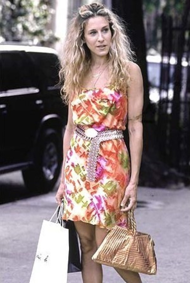 Sex And The City Girls:  Carrie Bradshaw