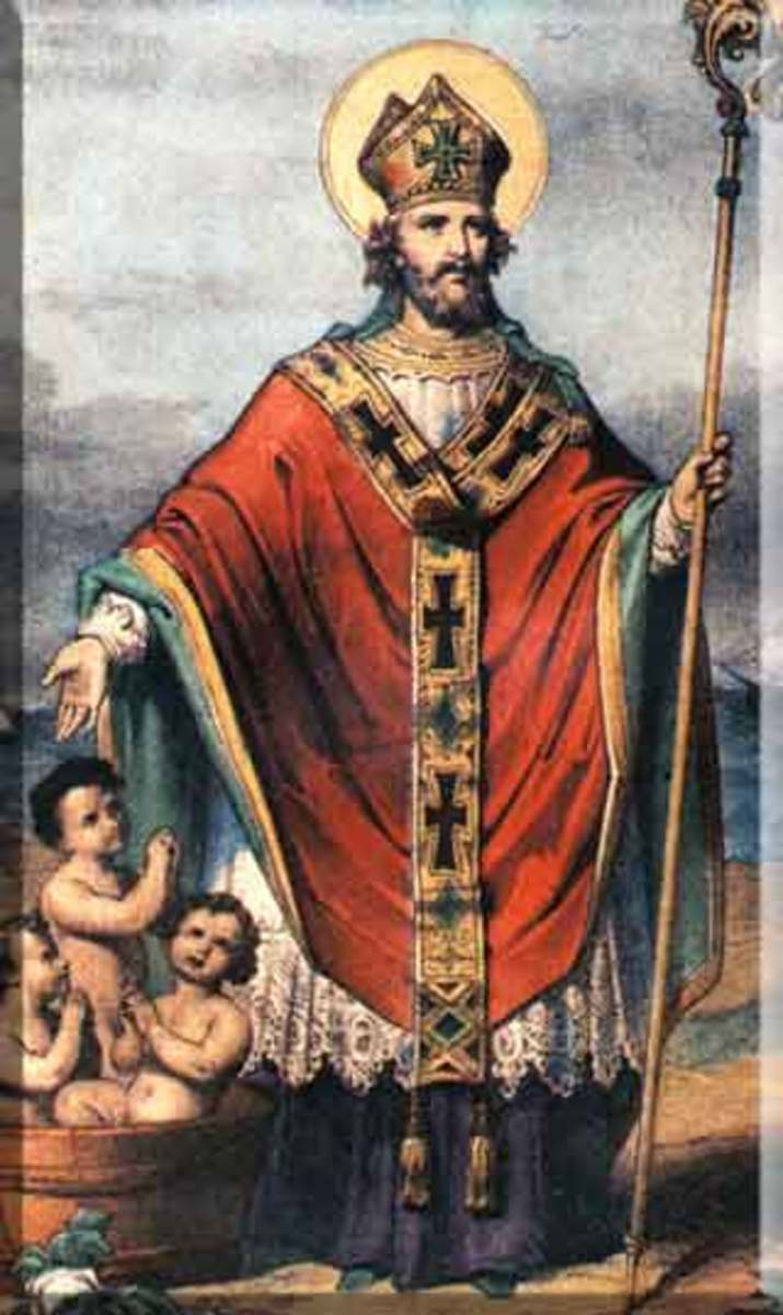 The patron saint of children