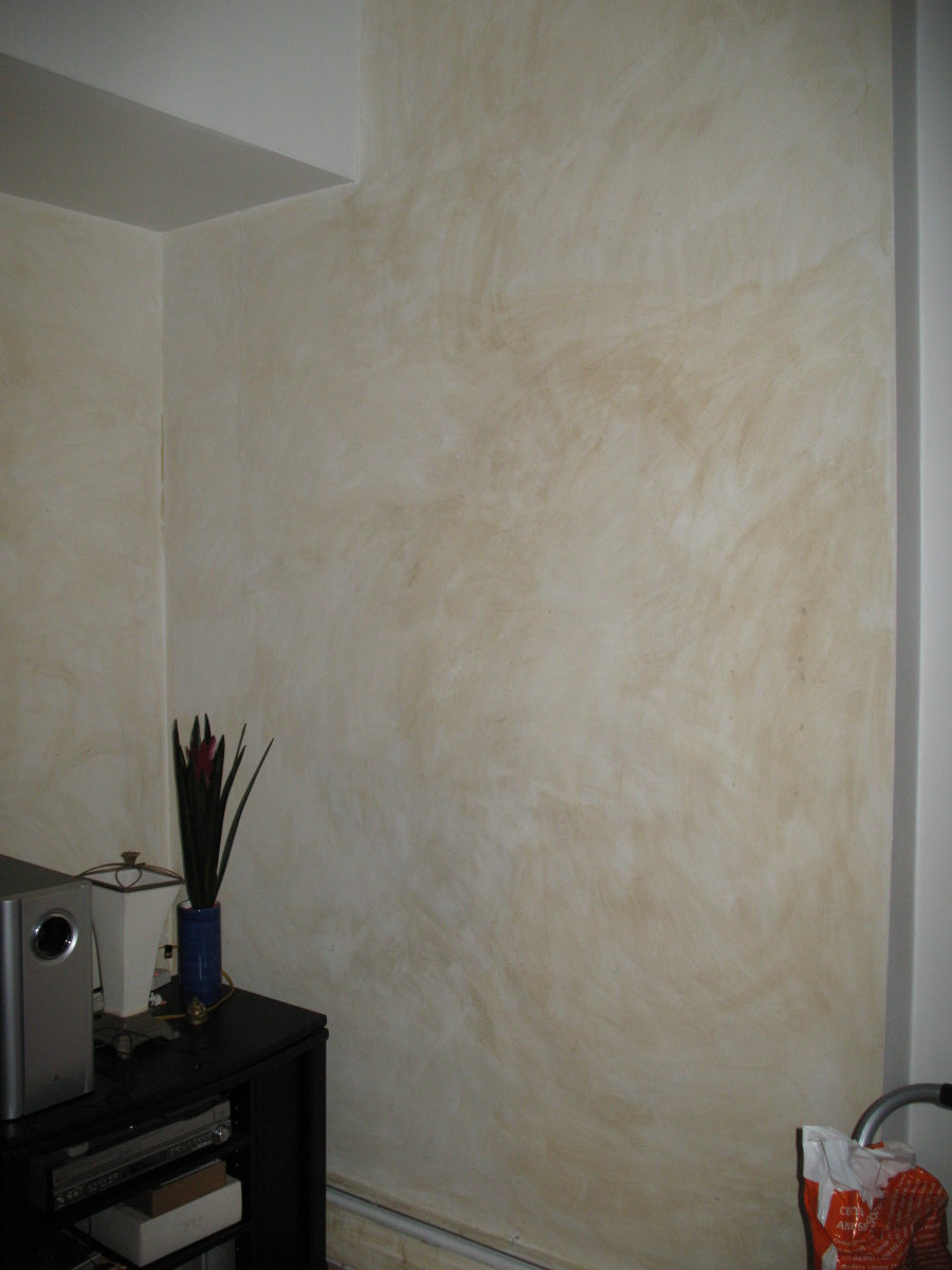 How To Color Wash Walls As Cheaply As Possible