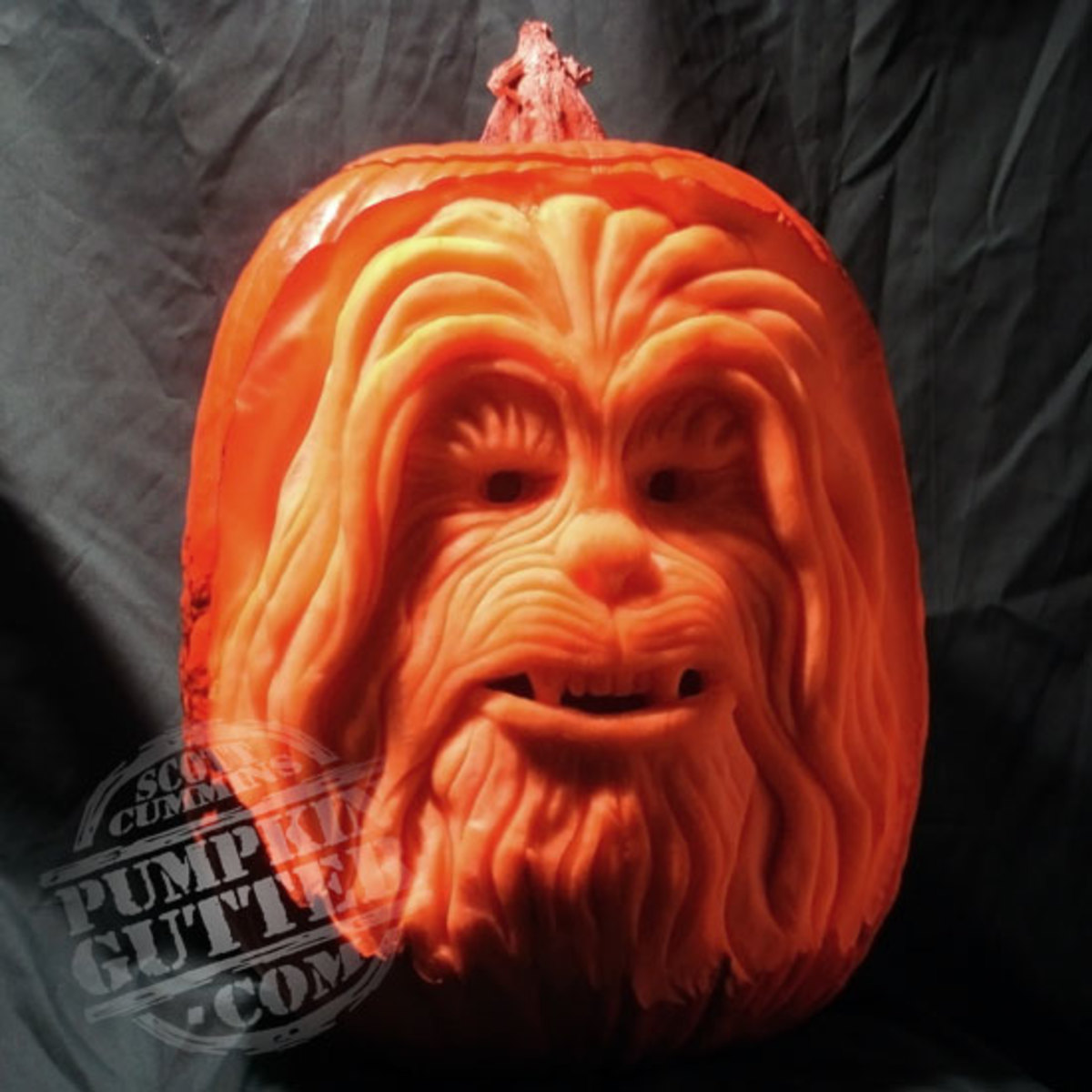 Chewbacca pumpkin, Star Wars