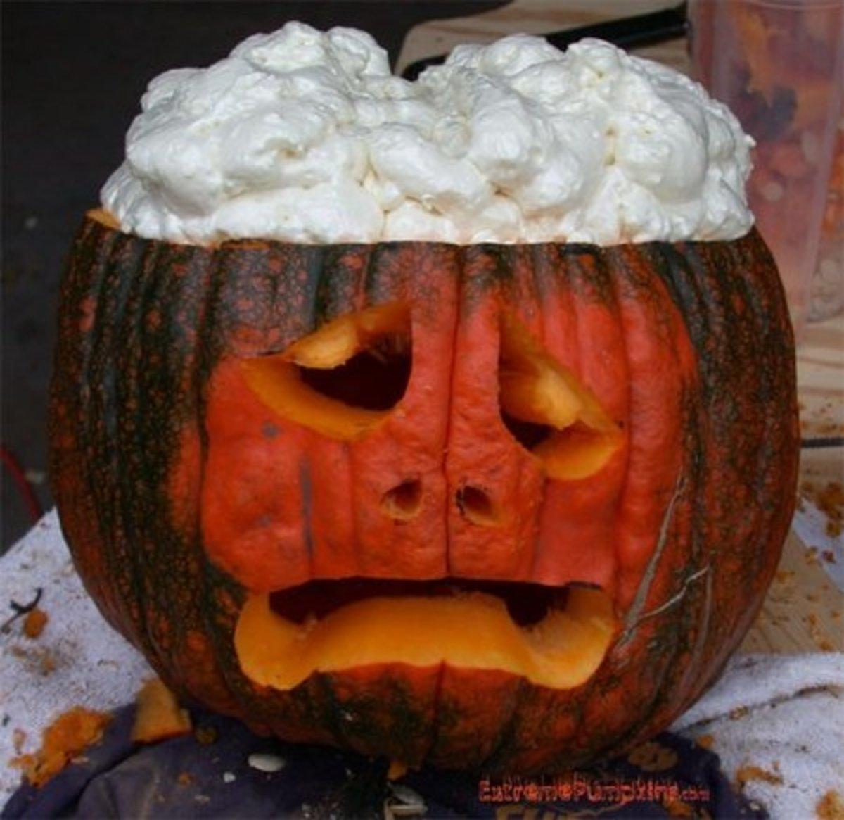 Brain pumpkin