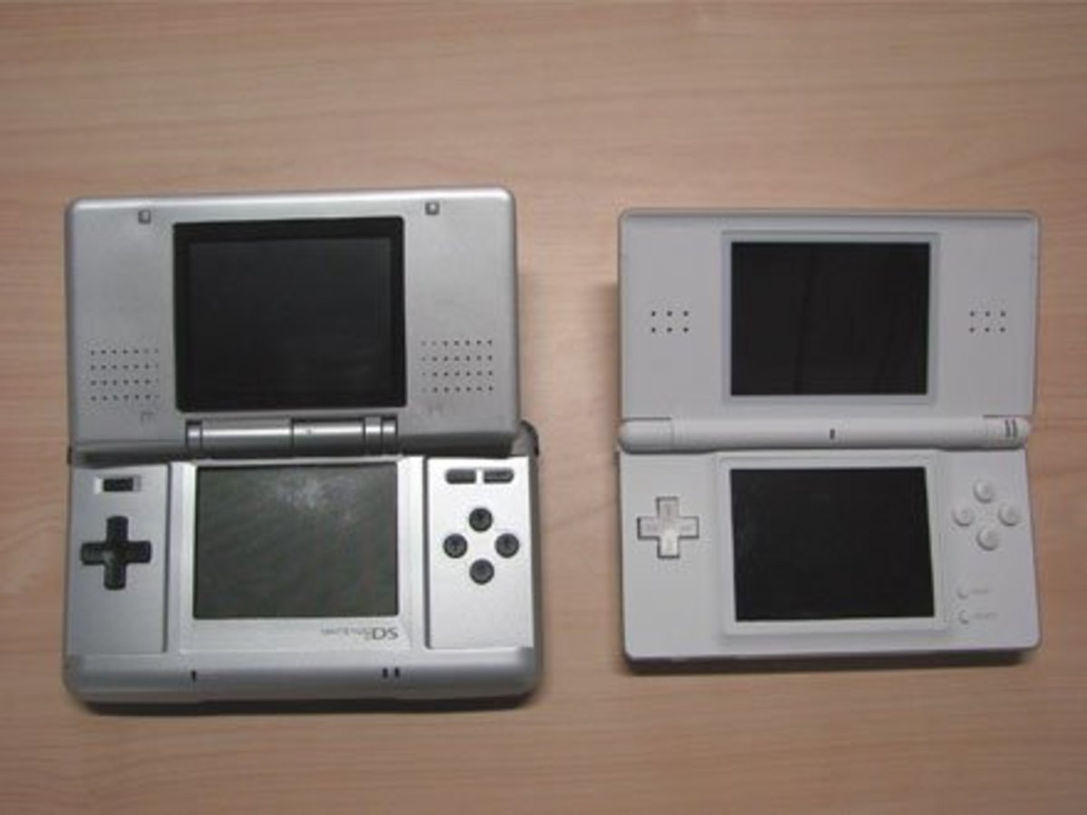 what is the difference between nintendo ds models hubpages. Black Bedroom Furniture Sets. Home Design Ideas