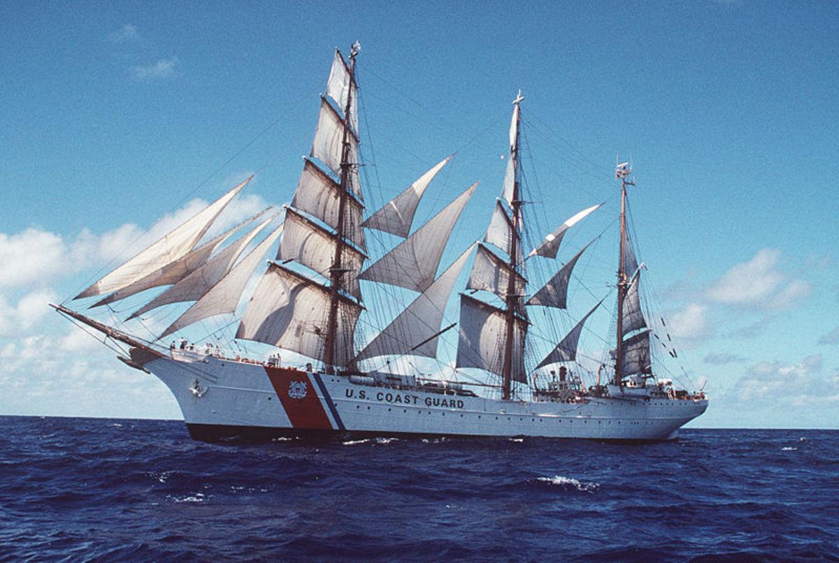 The USCG Eagle barque