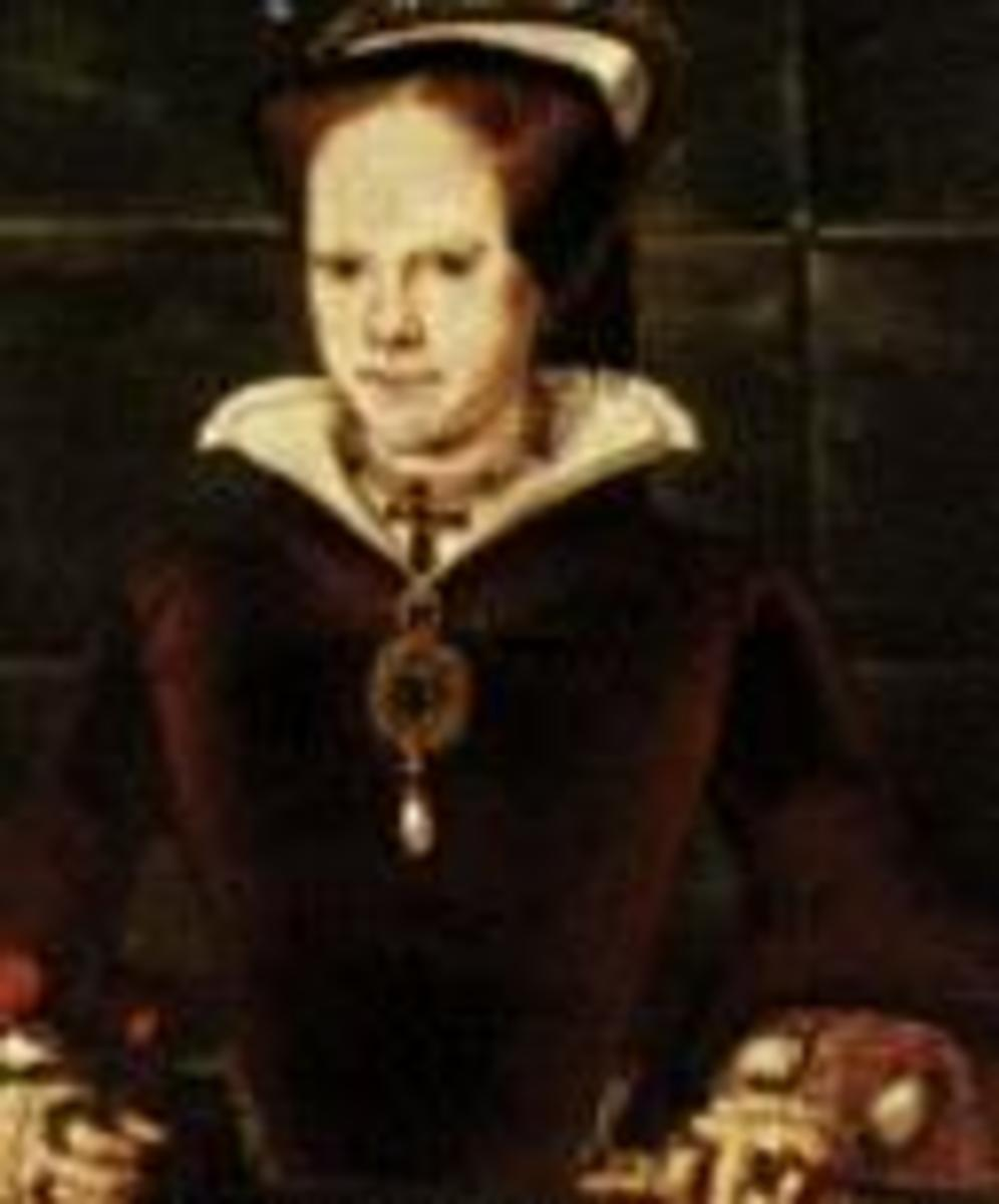 Queen Mary I was also known as Bloody Mary.