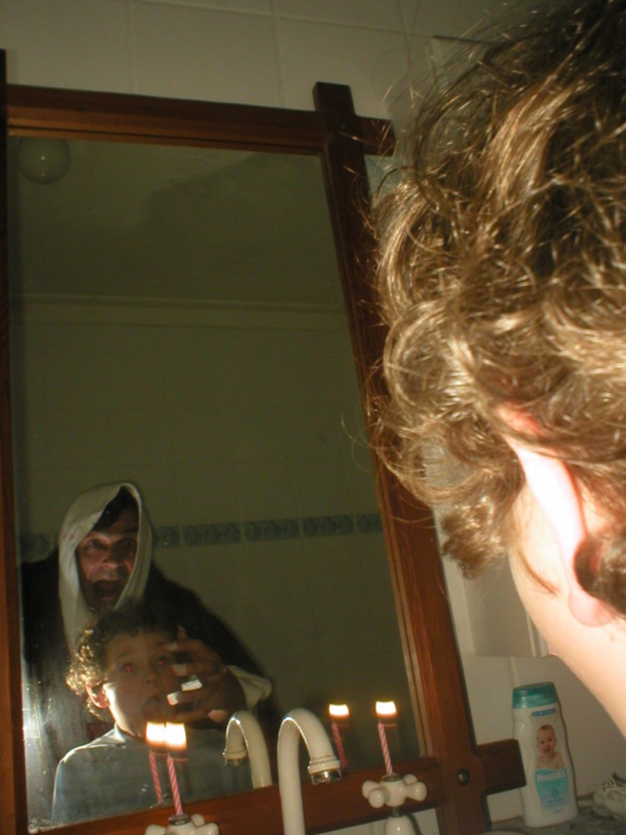 Bloody Mary The Urban Legend, Does Bloody Mary Lurk Behind Your Bathroom Mirror
