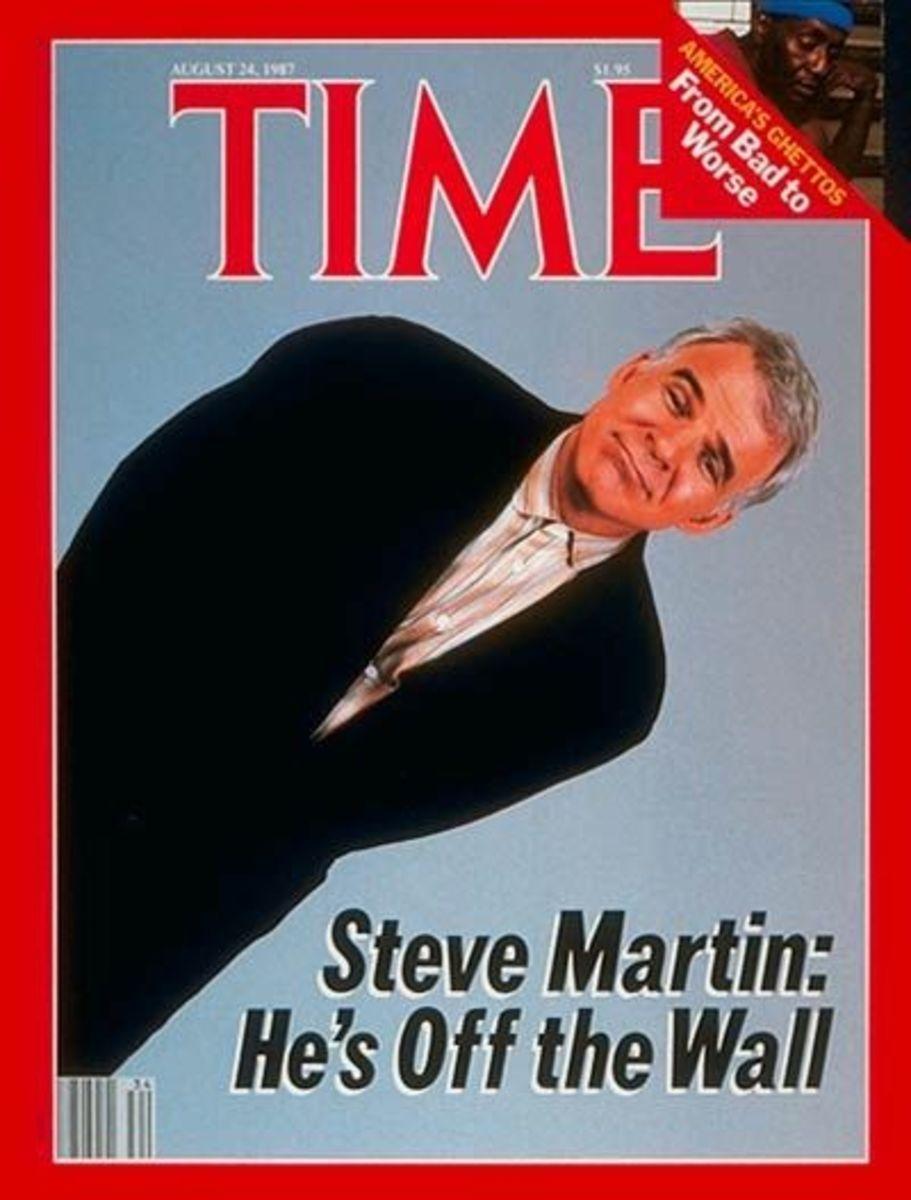 Steve Martin In Time