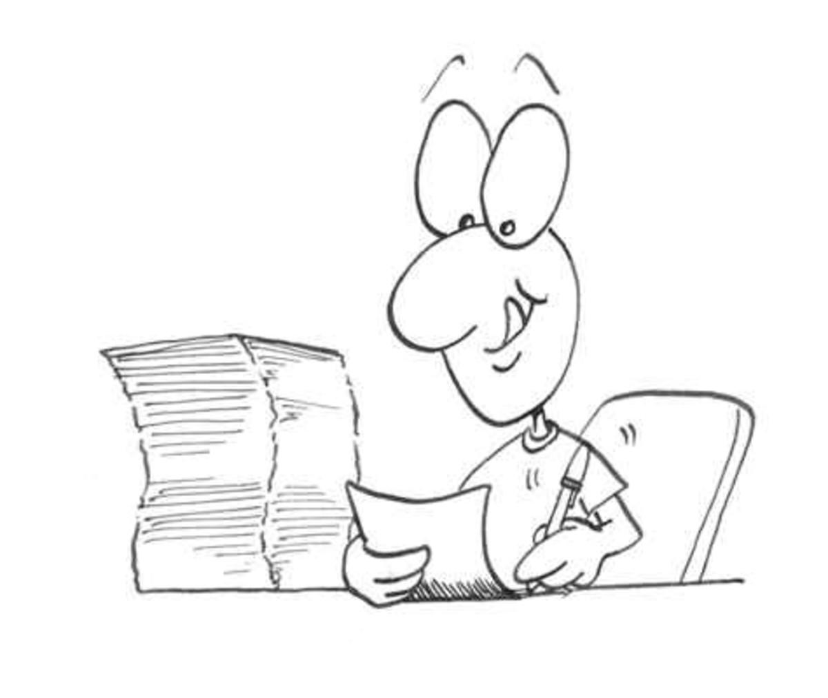 Freelance Writing Process (Image source: www.tip.duke.edu)