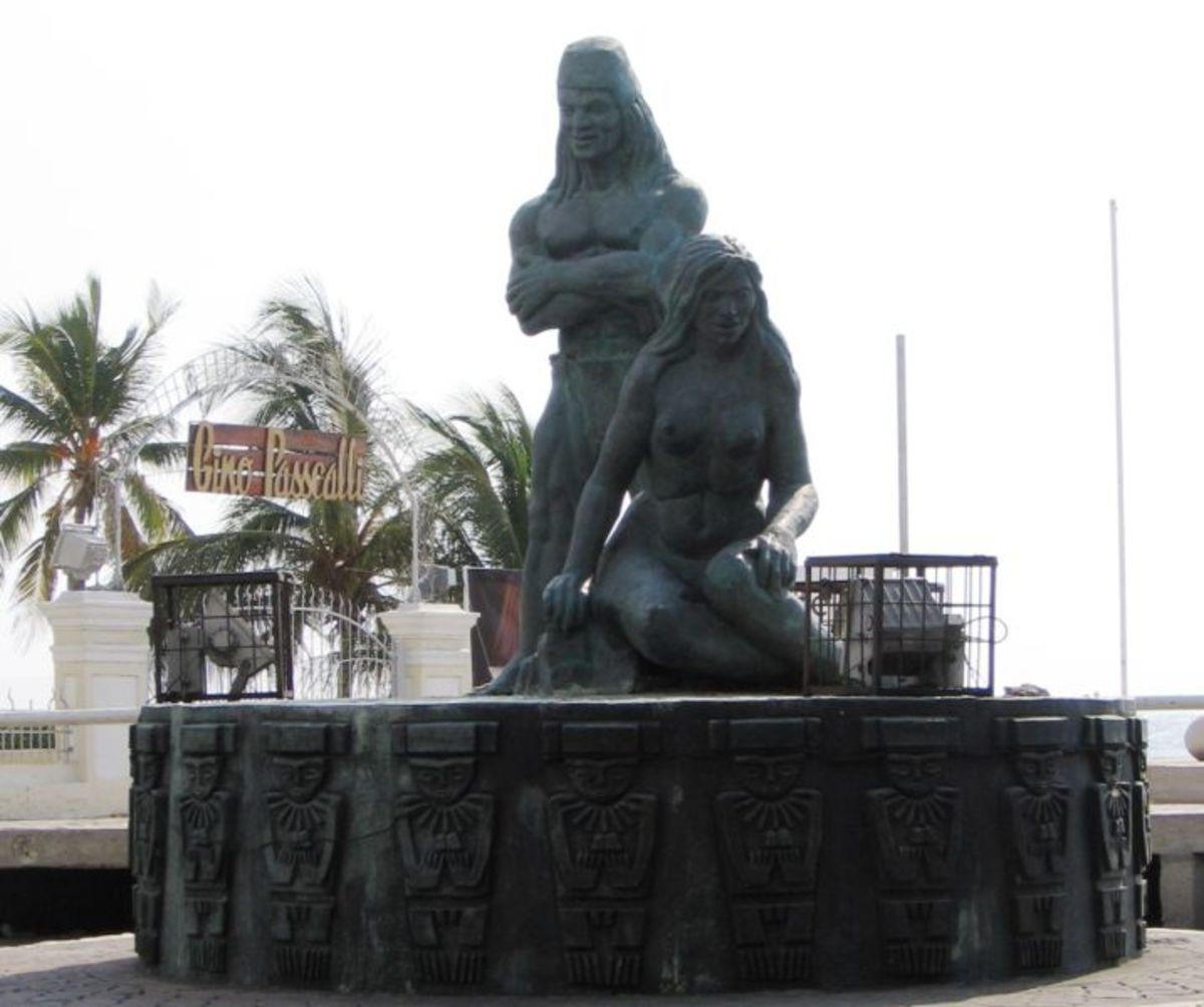 Tairona statue