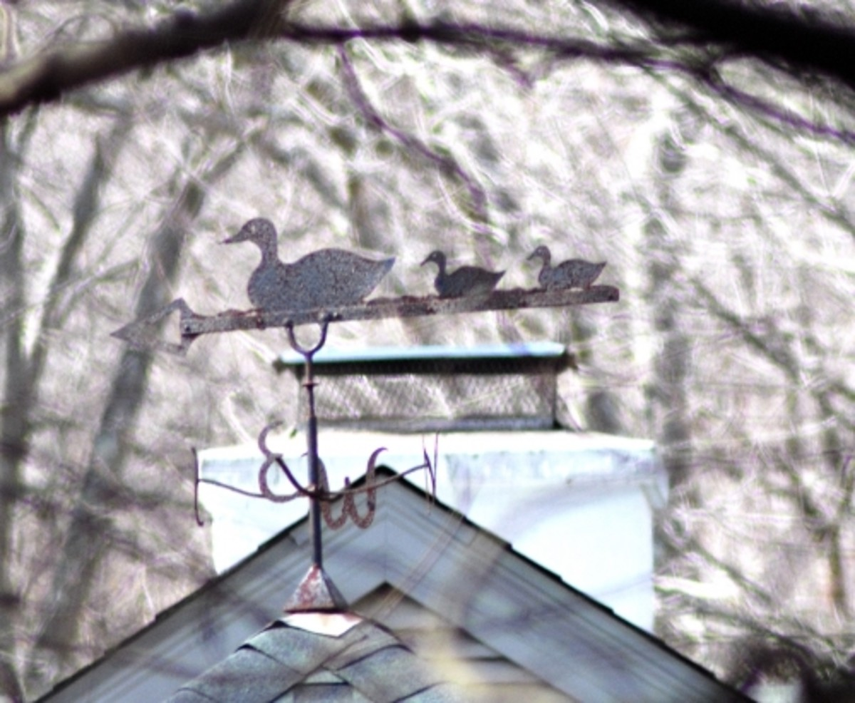 No!  Many practical items like this weather vane and other decorative hardware are considered folk art.