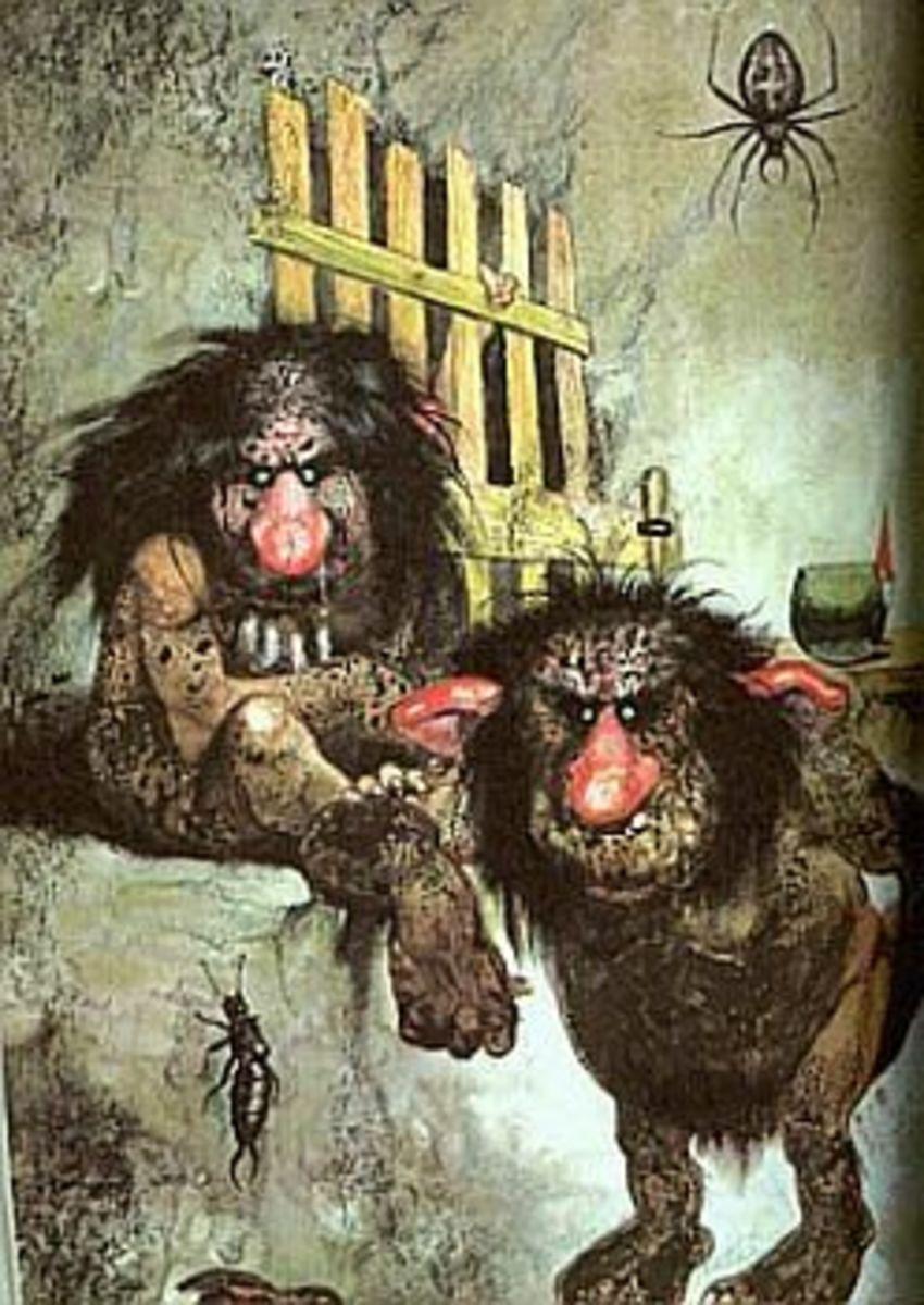 The Secret Life of Trolls