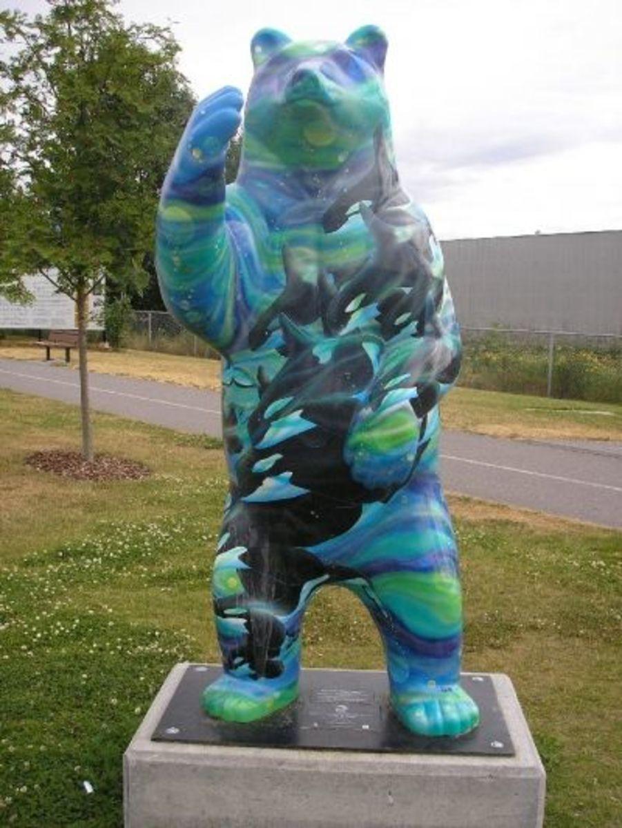 Luna's Bear in City of Terrace