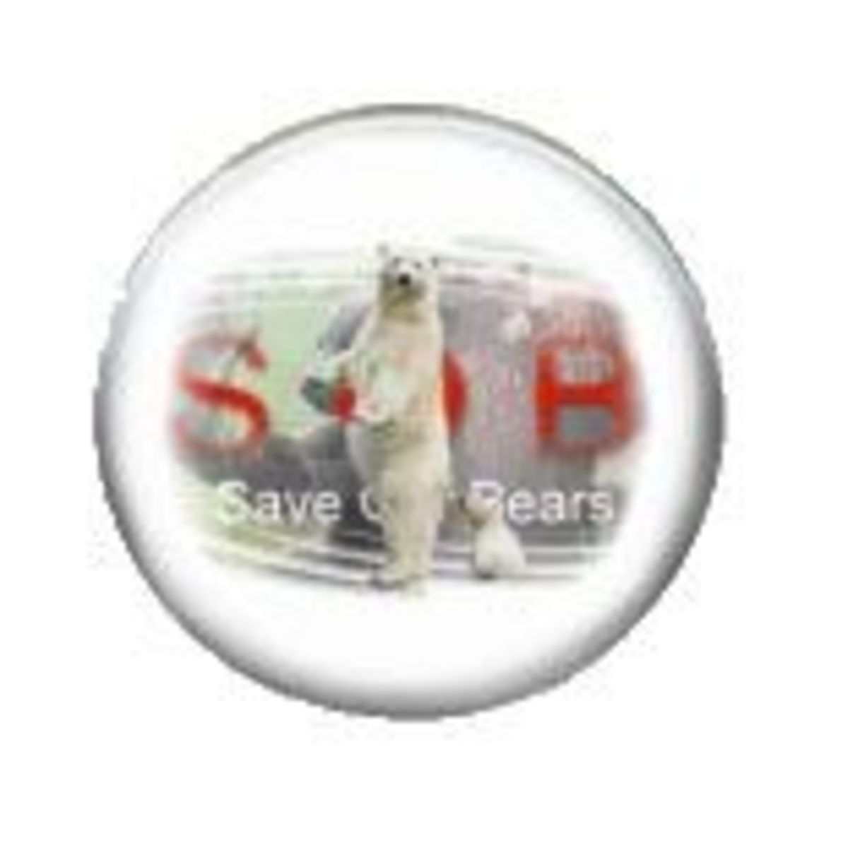 save our bears badge