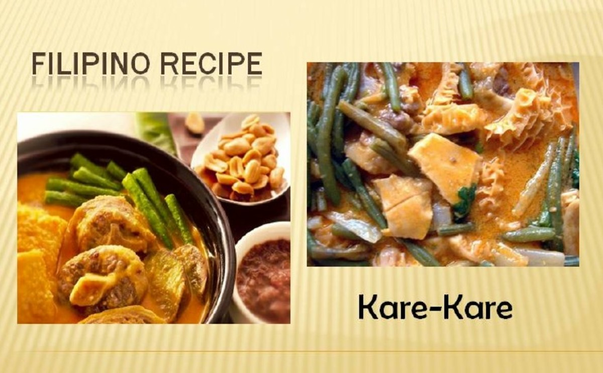 Filipino Recipe - Kare-kare