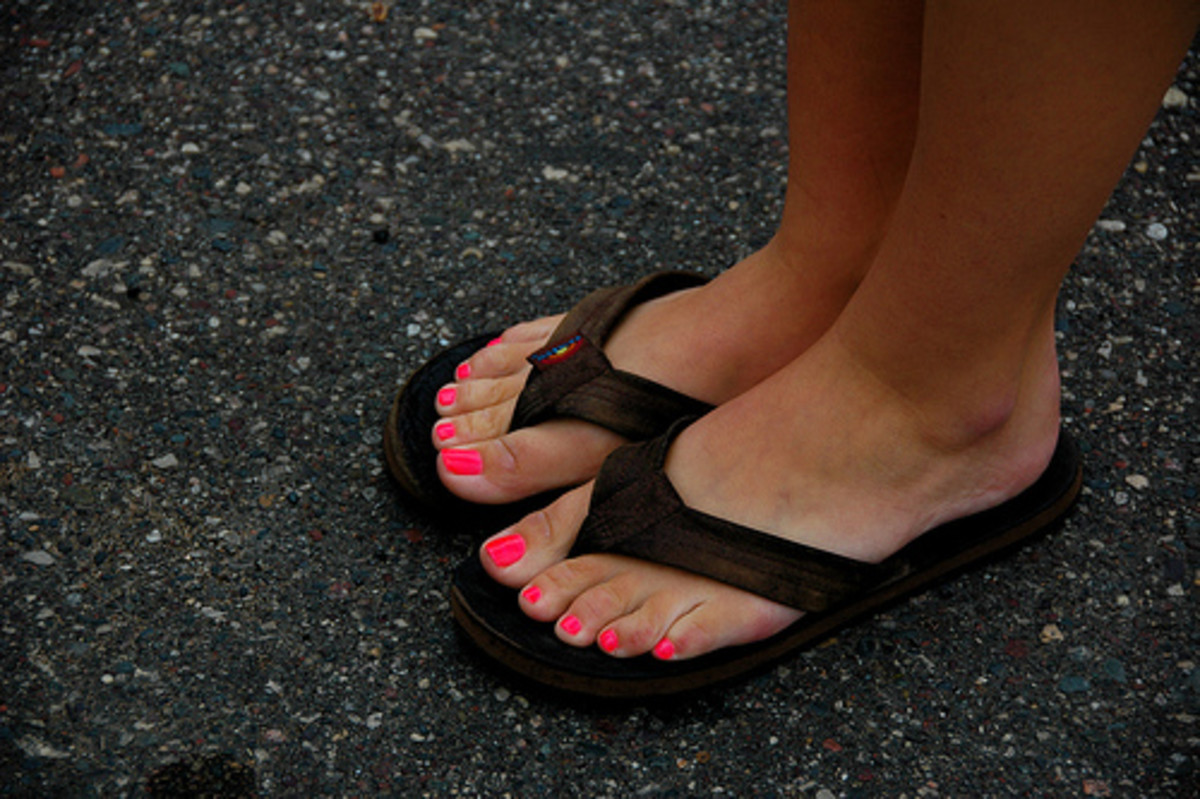 Nail polish is a common source of xenoestrogens. Photo by billaday.
