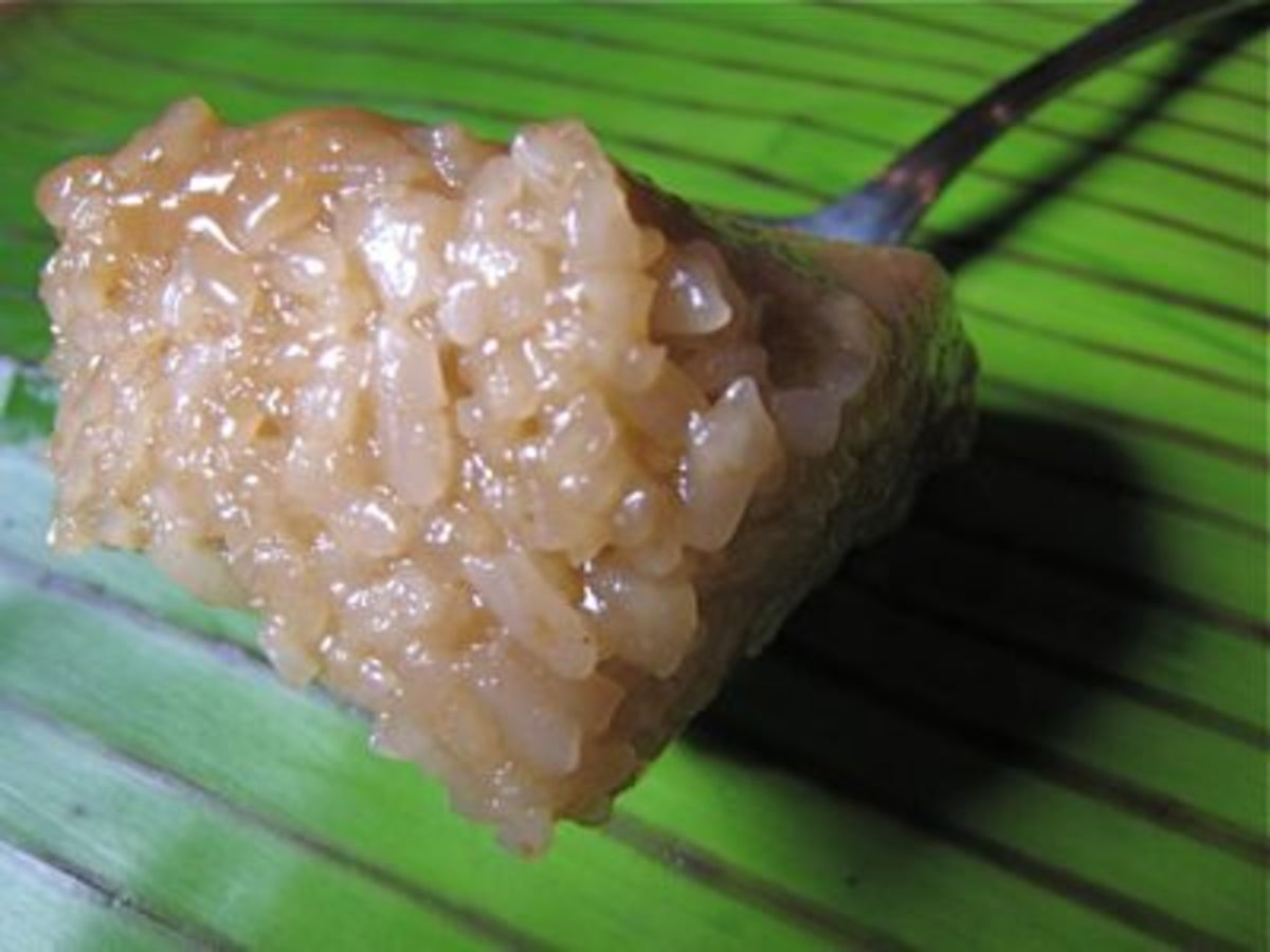 How To Make Sweet Rice or Bico  (A Filipino Recipe)