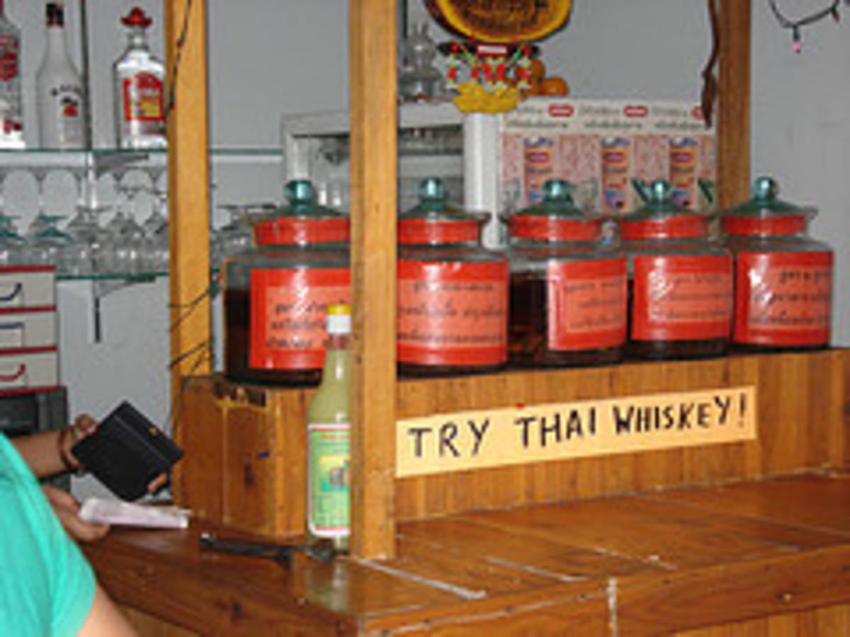 Yaa Dong - The real Thai Whiskey