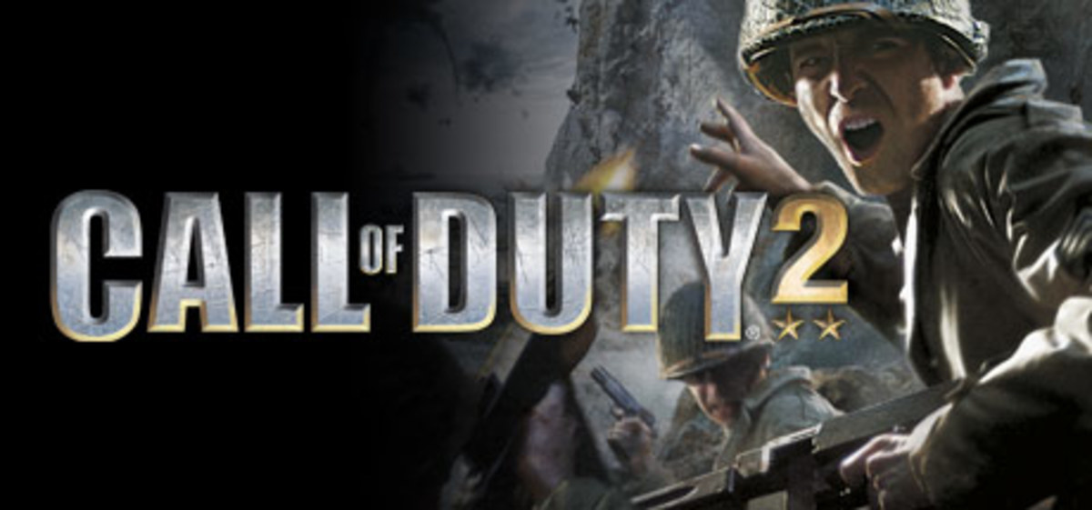 "(Image - official poster for Call of Duty 2) - ""Big Red One"", now here's the golden standard for shooter video-games. But, times have changed, the internet online capabilities have changed, and 2017's Call of Duty: WWII is the closest to gold in 2017"