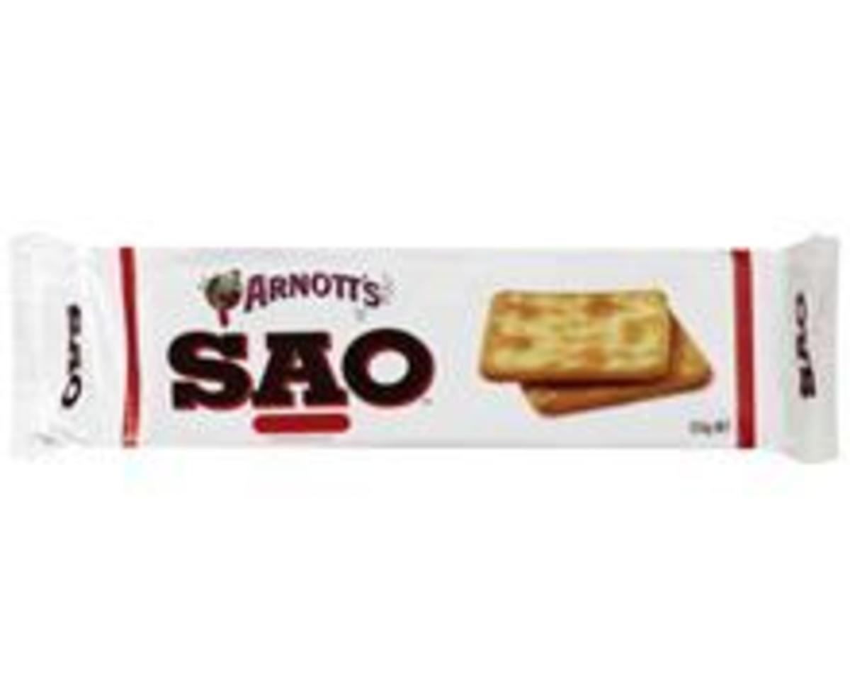 The Old Favourite SAO Biscuits