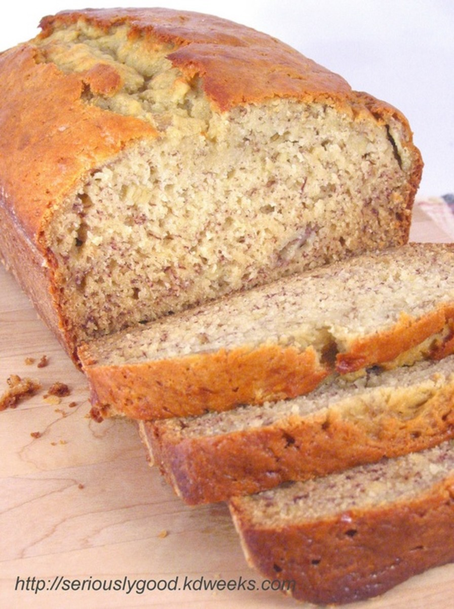 The Best-Ever Banana Bread Recipe